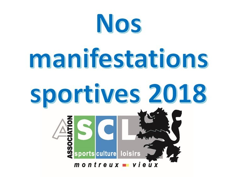 Manifestations sportives 2018